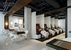 Nirvana is what happens when feng shui meets environmently friendly design in this San Francisco spa. Designed by Jiun Ho, Revel Spa is the ...