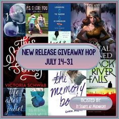 With Love for Books: July New Release Giveaway Hop Enter to win a July new release of your choice! http://www.withloveforbooks.com/2016/07/july-new-release-giveaway-hop.html?showComment=1469107638294#c4135762146572073253