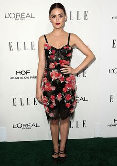 Lucy Hale at the 23rd Annual Elle Women in Hollywood Awards in Los Angeles on October 24, 2016