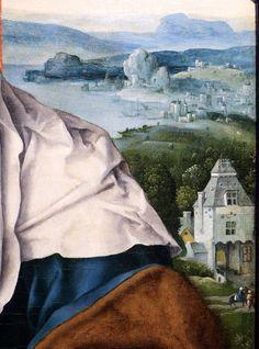 Joos Van Cleve - Madonna with Child. Detail. 1525