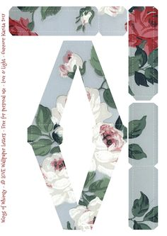 Wings of Whimsy: 3D LOVE Wallpaper Letters #freebie #printable #romantic #valentine #love #letters #3Dl