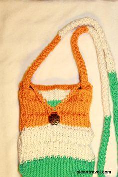 Tricolor mini cotton travel purse - http://oleantravel.com/tricolor-mini-cotton-travel-purse