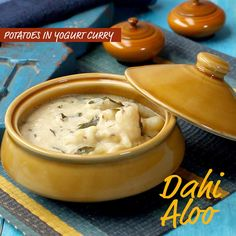 Aloo Recipes, Curry Recipes, Chutney Recipes, Spicy Recipes, Cooking Recipes, Healthy Recipes, Yogurt Curry, Indian Veg Recipes, Chaat Recipe