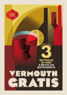 Drogheria Buonconsiglio Vintage Advertisements, Vintage Ads, Vintage Prints, Retro Design, Web Design, Italian Posters, Food Advertising, Poster Vintage, Bauhaus