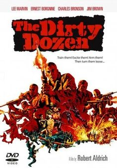 The Dirty Dozen (1967) movie #poster, #tshirt, #mousepad, #movieposters2