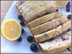 Blueberry Lemon Protein Loaf