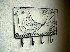 ZUDOS / vešiak s vtáčikom malý