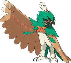 Pokémon Sun & Moon - 1st team member Decidueye/RobinHoot