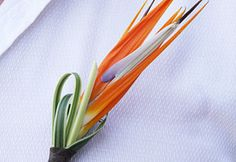 tropical boutonniere | Tropical Boutonnieres in Costa Rica | Ylang Ylang Beach Resort