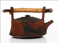 Raku Teapot by Jeff Minchem