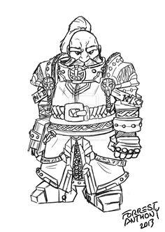 Fantasy Dwarf, Fantasy Armor, Warhammer Dwarfs, Warhammer 40k, Character Ideas, Character Inspiration, Awesome Art, Cool Art, Female Dwarf