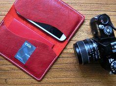 $29 | Handmade Leather Passport Wallet | Passport Holder | Travel Organizer Wallet #passportwallet #passportholder #travelorganizer #leathergifts #leatheraccessories