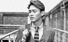 I'm need air... I need air.... Never mind I'm already long gone #chen #kimjongdae #thesmulder