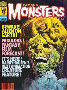 Monster Magazine Galleries: Famous Monsters of Filmland 4
