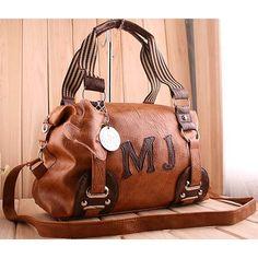 Ayumi - Ladies fashion brown shoulder #handbag $77.00