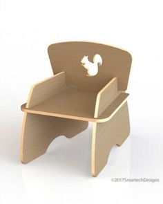 The Kids Chair A is a flat-pack, slot-together chair CNC routed from a computer generated design, made from 15mm thick Birch plywood. No tools required for assembly. Contact info@smartechdesigns.co.za for more information on pricing and delivery