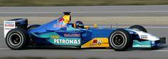 SAUBER  C22                                 PETRONAS  03A-V10                                      Heinz-Harald Frentzen