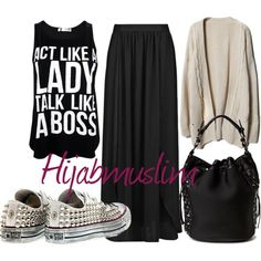 """Hijabmuslim"" by meriemmoufid on Polyvore"