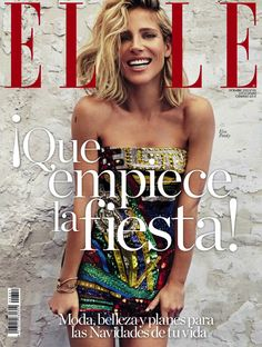 Elsa Pataky by Xavi Gordo for Elle Spain December 2015