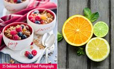 25 Delicious Food Photography examples and Tips for Beginners. Read full article: http://webneel.com/food-photography-inspiration-tips-tricks | more http://webneel.com/daily | Follow us www.pinterest.com/webneel