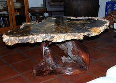 Buckeye Burl coffee table