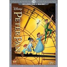 Peter Pan [Diamond Edition] [2 Discs] [DVD/Blu-ray]