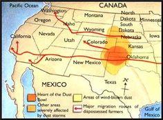Great Depression Dust Bowl Timeline | Dust Bowl begins