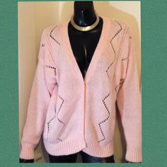 b35fbcca500 ❄️️CLEARANCE❄ Whitley Gilbert DVF Cardigan Cotton candy pink straight from  the Light weight and an ideal transitional piece needed for spring to ...