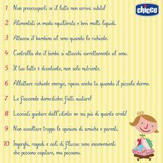 Consigli per l' #allattamento: i #consigli per le #mamme da Chicco (#infografica)