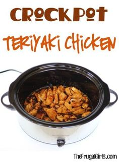 Crockpot Teriyaki Chicken Recipe! ~ from TheFrugalGirls.com ~ no need for teriyaki takeout with this easy and delicious Slow Cooker dinner! #slowcooker #recipes #thefrugalgirls