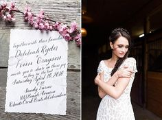 Sneak peek at a recent styled shoot I had the pleasure of providing the stationery & calligraphy for on the Sunshine Coast. I'm so impressed by the team I worked with as they didn't let a hurricane stop them! And I'm seriously swooning over that gown!  photography: @fineartweddingphotos | with: @savethedatebeauty + @unionbridal + @lissanunweiler + @theborrowedco + @swellanchor & @sashaweddings / model: @katrinalep /