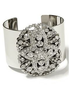 Stardust Cuff Bracelet from @Brent Hannah Republic makes a totally cute addition to holiday LBD