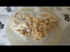 Hazir almaya son! Buzluk Manti (Tortellini) - Ev Yemekleri - YouTube Tortellini, Garlic, Vegetables, Youtube, Food, Essen, Vegetable Recipes, Meals, Youtubers