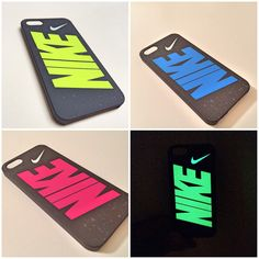 Nike Air Max Run iPhone 5 5s iPhone 6 iPhone 6+ case glow-in-the dark / Hyper-Blue, Hyper-Pink, Hyper-Yellow by FabWeld915 on Etsy https://www.etsy.com/listing/200271298/nike-air-max-run-iphone-5-5s-iphone-6