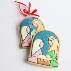 Nativity Cookie Ornament-possibly in felt