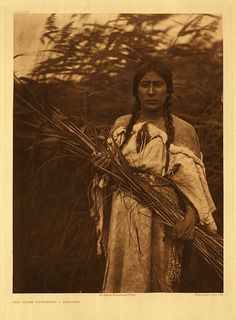 "Edward S. Curtis, ""The Rush Gatherer"" (1908) by parkek, via Flickr"