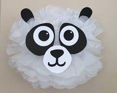Resultado de imagen para como hacer piñatas de safari paso a paso Jungle Decorations, First Birthday Party Decorations, First Birthday Parties, First Birthdays, Panda Birthday, Safari Birthday Party, Animal Birthday, Panda Party, Bear Party