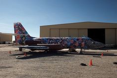 retired airplanes by Eric Firestone, Carlo McCormick and Medvin Sobioa