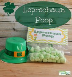 This is a fun little way to celebrate St. Patrick's Day -- with Leprechaun Poop!