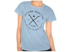 Shillelagh Hiking Club, Style is Women's Hanes ComfortSoft T-Shirt, color is Light Blue Hiking Club, Irish Design, Club Style, Light Blue, Mens Tops, T Shirt, Color, Fashion, Supreme T Shirt