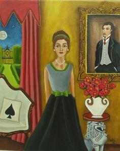 The Look Of Love, pintura original del artista Catalina Nolin | DailyPainters.com