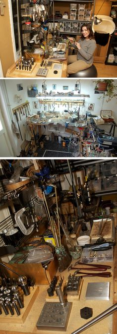 jeweler's workbench  #workspace