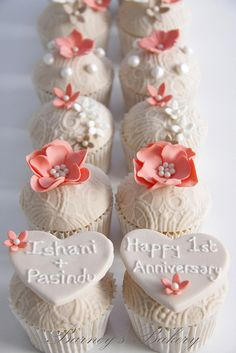 Anniversary Cupcakes | Flickr - Photo Sharing!