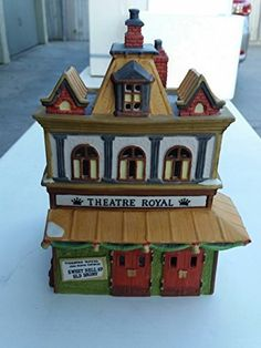 Department 56 Theatre Royal Retired Dickens Village Series by DEPARTMENT 56 *** To view further for this item, visit the image link.