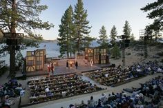 Lake Tahoe Shakespeare Festival. Tradition!