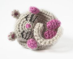 Free+English+Crochet+Patterns+Amigurumi | Amigurumi Pattern Mouse Dormouse Crochet Pattern by yoguiana | Craft ...