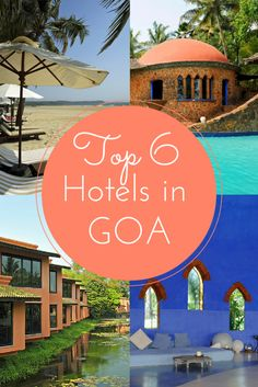 My top 6 hotels in Goa, India  #ombeachemporium loves this #karmastrings