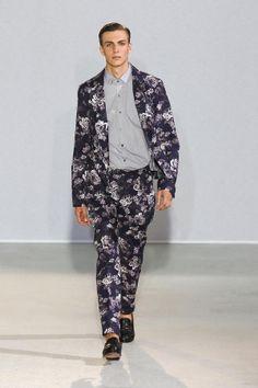 Floral Print on Menswear