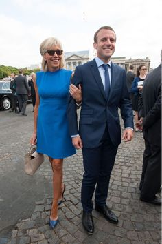 Brigitte Trogneux French First Lady Style | British Vogue