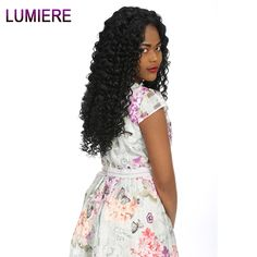 Get HumanHair Products At Cheap Prices  US $16.80     Wholesale Priced Wigs, Extensions, And Bundles!     FREE Shipping Worldwide     Get it here ---> http://humanhairemporium.com/products/lumiere-hair-malaysian-deep-wave-human-hair-bundles-natural-color-free-shipping-100-human-hair-non-remy-hair-1-bundle-weave/  #hair_weaves
